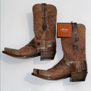 Lucchese 1883 Women's Leather Cowboy Boots